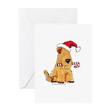Wheaten Holiday Joy Greeting Card