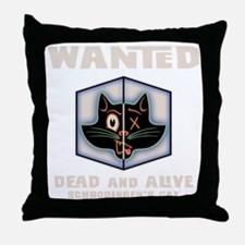 schrodingers-cat-DKT Throw Pillow