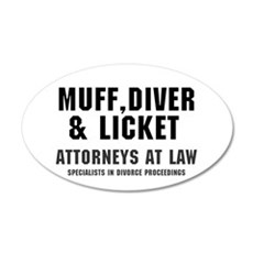 MUFF, DIVER  LICKET - ATTORN Wall Decal