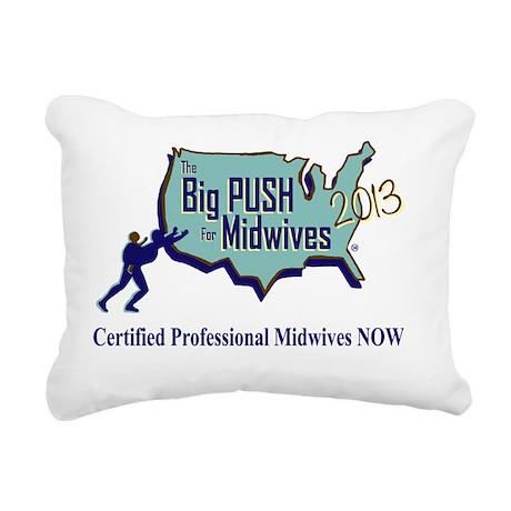 2013 logo Rectangular Canvas Pillow