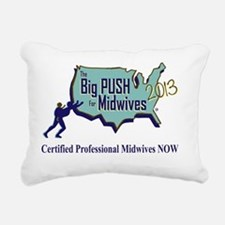 2013 logo Rectangular Canvas Pillow