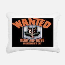 schrodingers-cat-OV Rectangular Canvas Pillow