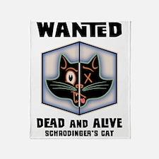 schrodingers-cat-LTT Throw Blanket