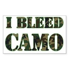 I Bleed Camo (woodland) Decal