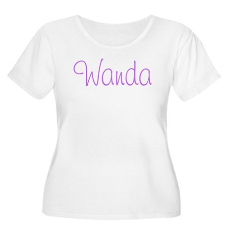 Wanda Women's Plus Size Scoop Neck T-Shirt