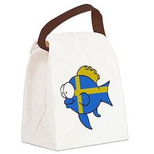 Swedish Fish Canvas Lunch Bag