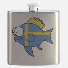 Swedish Fish Flask