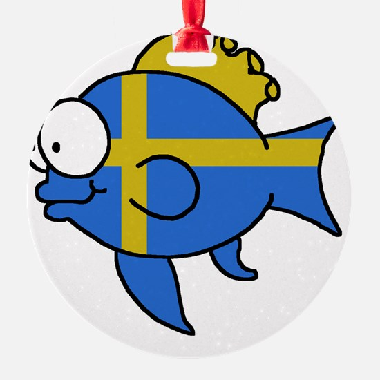 Swedish Fish Ornament