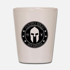 I Think Therefore I Am Armed Shot Glass