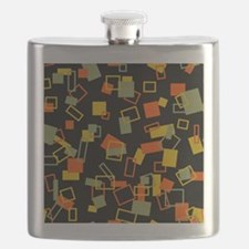 Retro Pattern Flask
