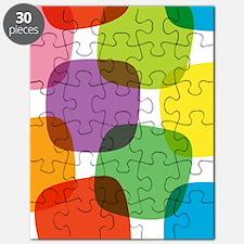 Colorful Retro Pattern Puzzle