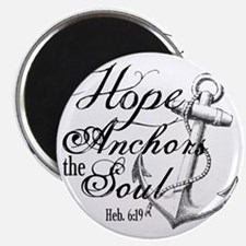 Hope Anchors the Soul Heb. 6:19 Magnet