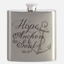 Hope Anchors the Soul Heb. 6:19 Flask