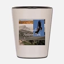 pinnaclessq Shot Glass