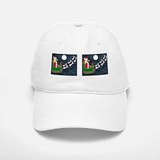 Santa Dachshund Baseball Baseball Cap