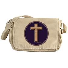 Psalm 136 26 Bible Verse Messenger Bag