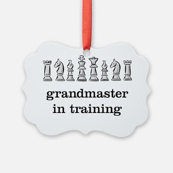 Grandmaster in training Ornament