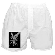 Michael black bg 16x20 Boxer Shorts