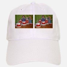 Russian Doll Tea Time Baseball Baseball Cap