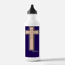 Psalm 136 26 Bible Ver Water Bottle