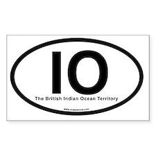 IO - The British Indian Ocean  Decal