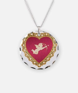 Cupid Valentine Necklace
