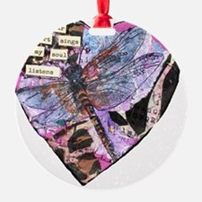 Your Heart Dragonfly Ornament