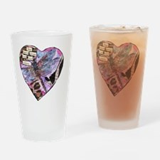 Your Heart Dragonfly Drinking Glass