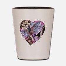 Your Heart Dragonfly Shot Glass