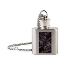 Violet Victorian Flask Necklace