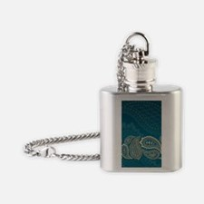 Paisley Border Flask Necklace