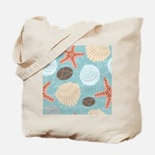 Starfish and Seashells Tote Bag