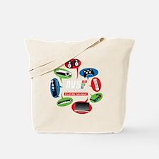 AVS Black Chat Tote Bag