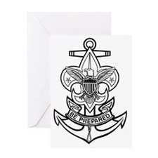 Sea Scout First Class Anchor Greeting Card