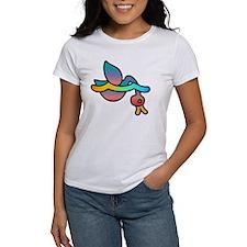 Rainbow duckie diving Tee
