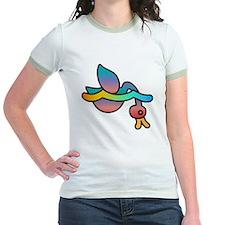 Rainbow duckie diving T