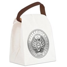 Silver Bullet Coin Canvas Lunch Bag