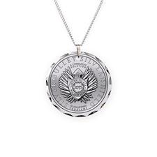 Silver Bullet Coin Necklace