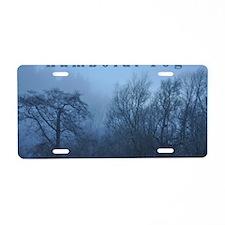 Humboldt Fog Aluminum License Plate