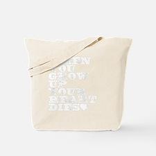 heart dies Tote Bag