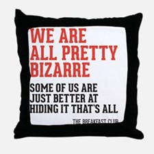 bizarre Throw Pillow