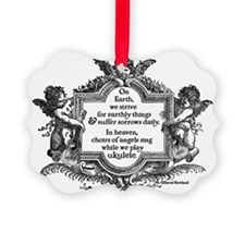 Ukulele Benediction Ornament