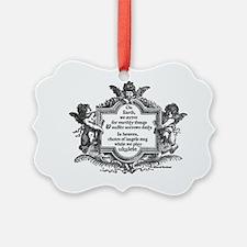 Ukulele Benediction Ornament