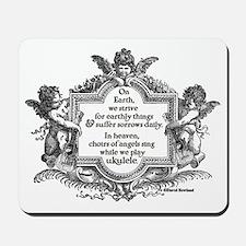 Ukulele Benediction Mousepad