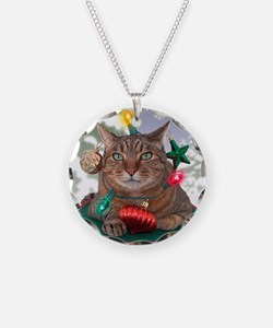 Catmas Tree Necklace