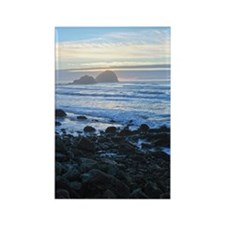 Lost Coast Sunset Rectangle Magnet