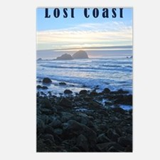 Lost Coast Sunset Postcards (Package of 8)
