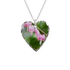 bleeding heart pink Necklace