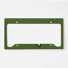 Hedgehog License Plate Holder