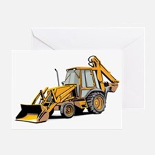 Earth Mover Greeting Card